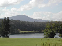 View of Cambewarra Mountain